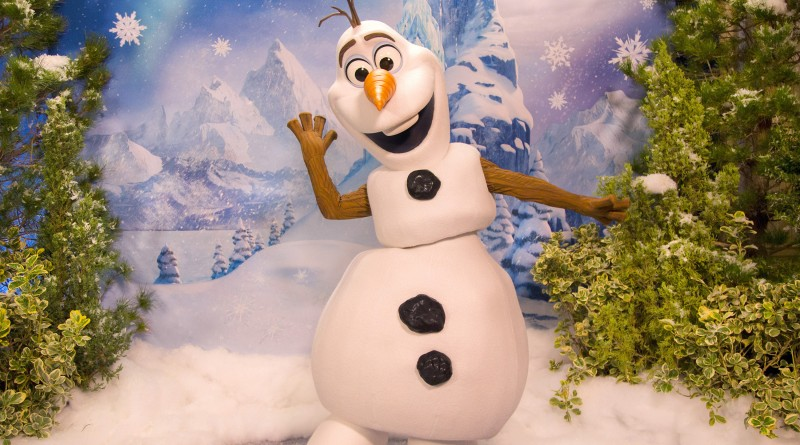 olaf frozen fun disneyland 800x445